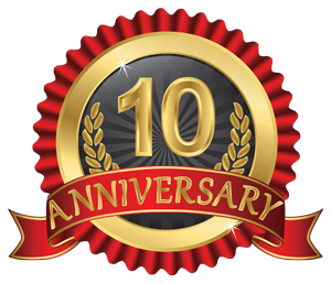 Celebrating 10 Years of Service